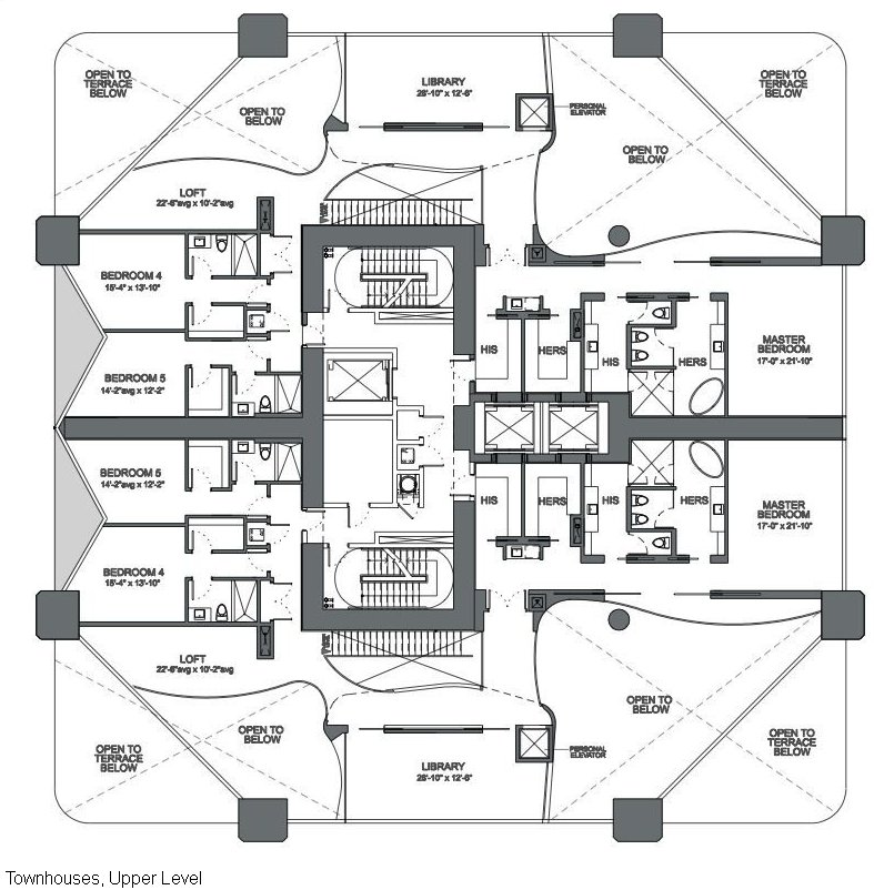 floor plans 1000 museum miami condo 1000 biscayne blvd